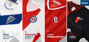 Vélez, Argentinos Juniors, Independiente, Colón